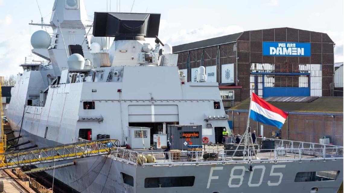 Royal Netherlands Navy HNLMS Evertsen