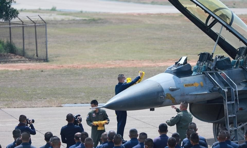 Royal Thai Air Force decommissions two Lockheed Martin F-16 multirole fighter aircraft