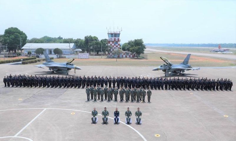 Royal Thai Air Force Decommissions Two F-16 Fighters and Five L-39ZA Trainers