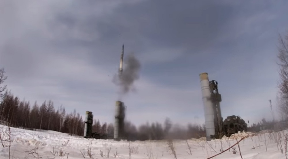 Russian Central Military District S-400 Triumf Missile Tested at Telemba Range