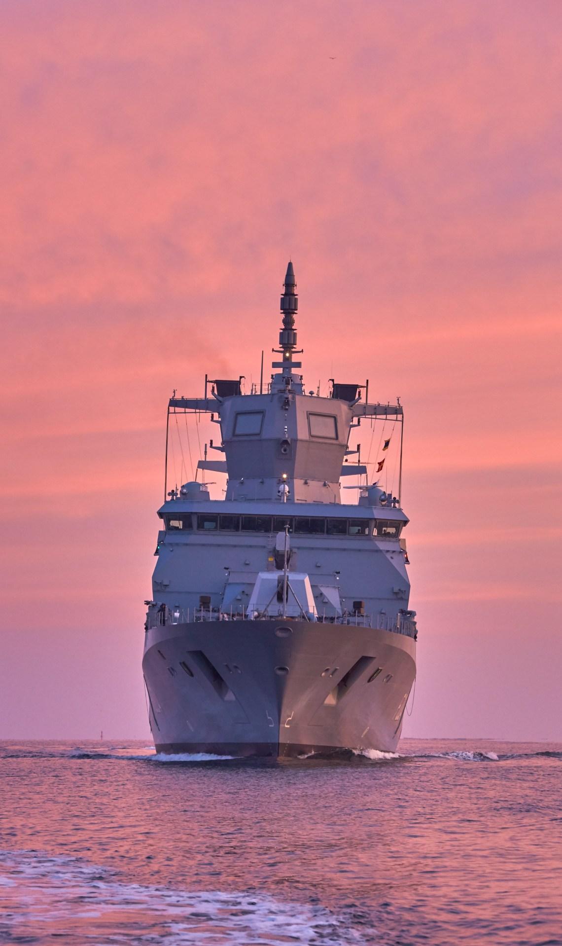 thyssenkrupp Marine Systems Hands Over Frigate Sachsen-Anhalt to German Navy