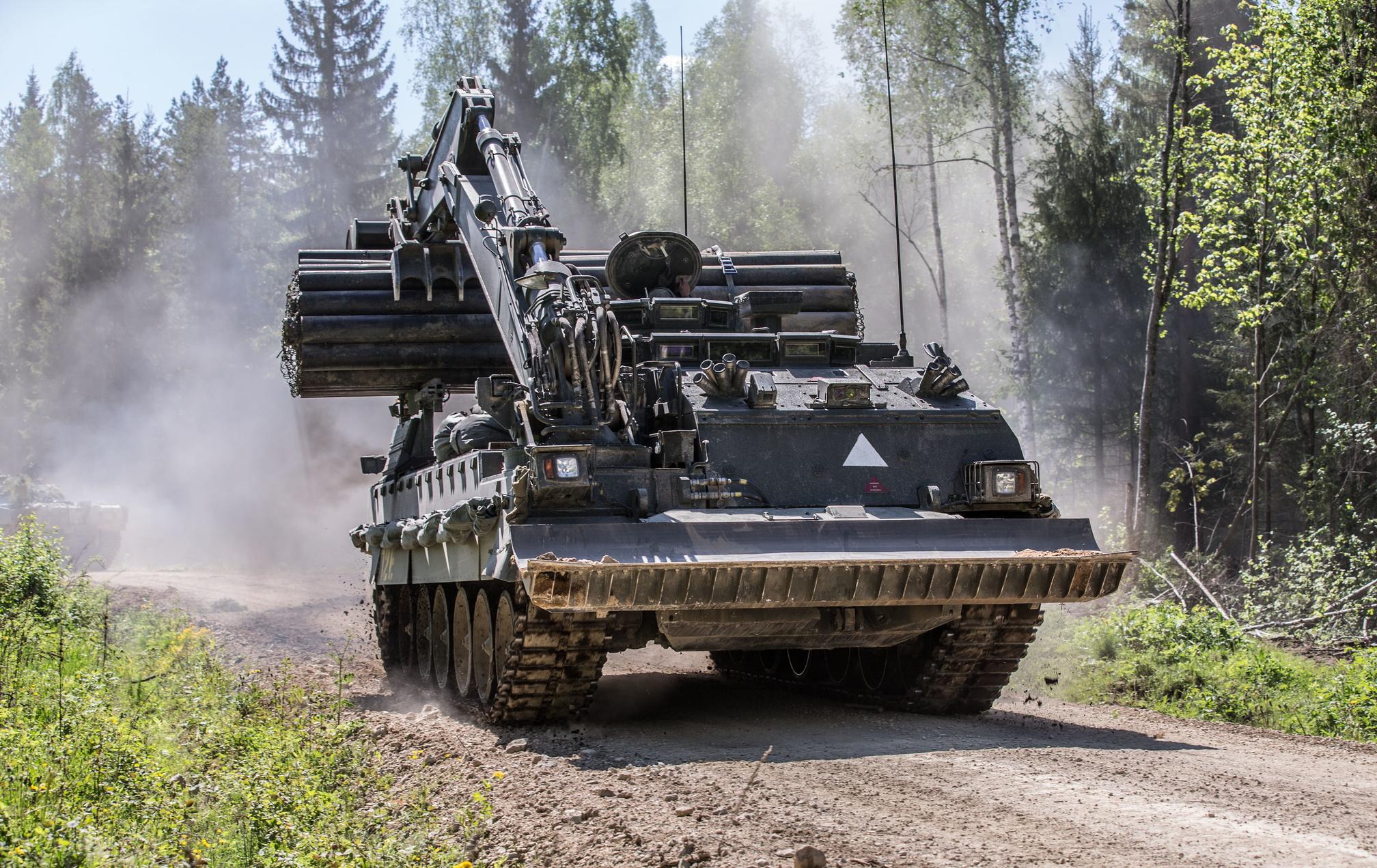 Trojan Armoured Vehicle Royal Engineers