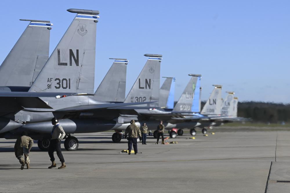 US Air Force 48th Fighter Wing Hosts First Multi-day Point Blank Exercise