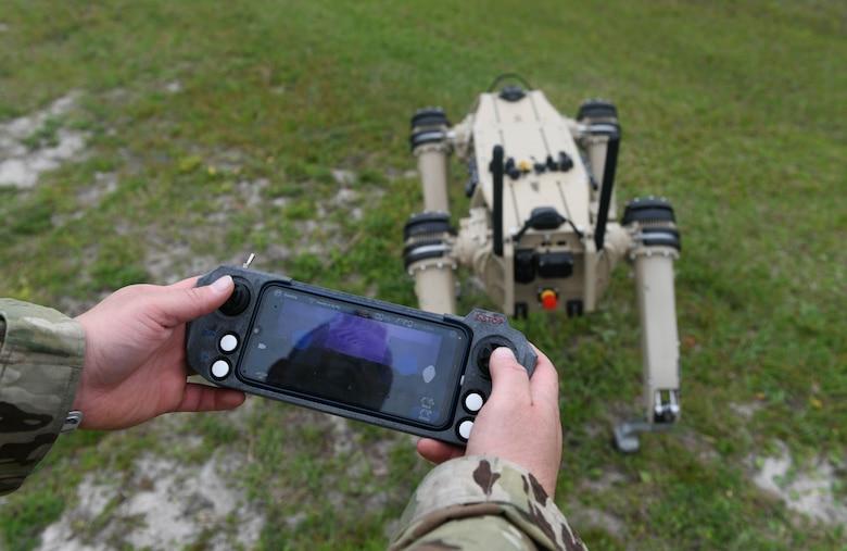 US Air Force Tyndall Air Force Base Receives Semi-autonomous Robot Dogs