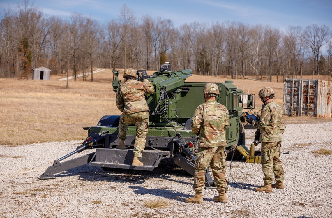 AM General HUMVEE 2-CT Hawkeye Mobile Howitzer Systems (MHS)