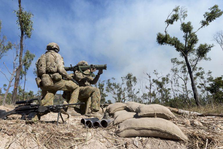 Australian Army Saab Carl-Gustaf M4 Recoilless Rifle