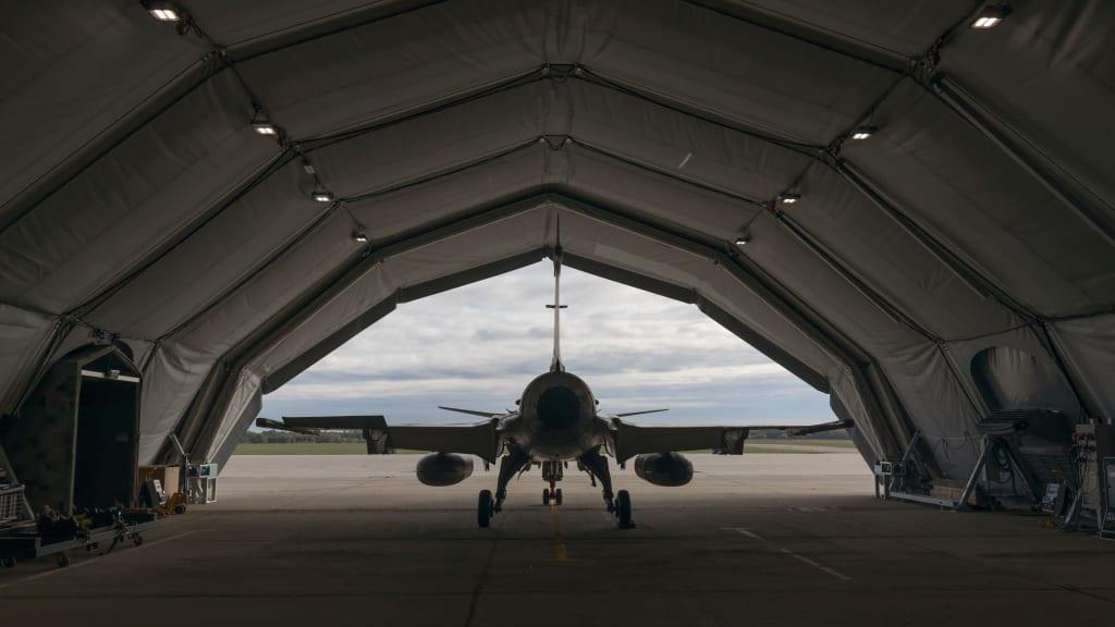 Bulgarian Air Force Orders Saab's Deployable Maintenance Facility (DAM)