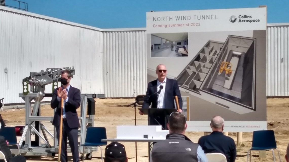 Collins Aerospace breaks ground on $18M Ram Air Turbine Wind Tunnel Test Facility in Rockford, Illinois