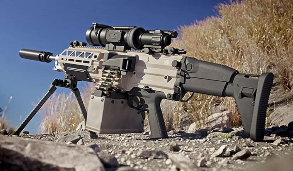 Belgian Firearms Manufacturer FN Herstal Launches Evolys Light Machine Gun (LMG)