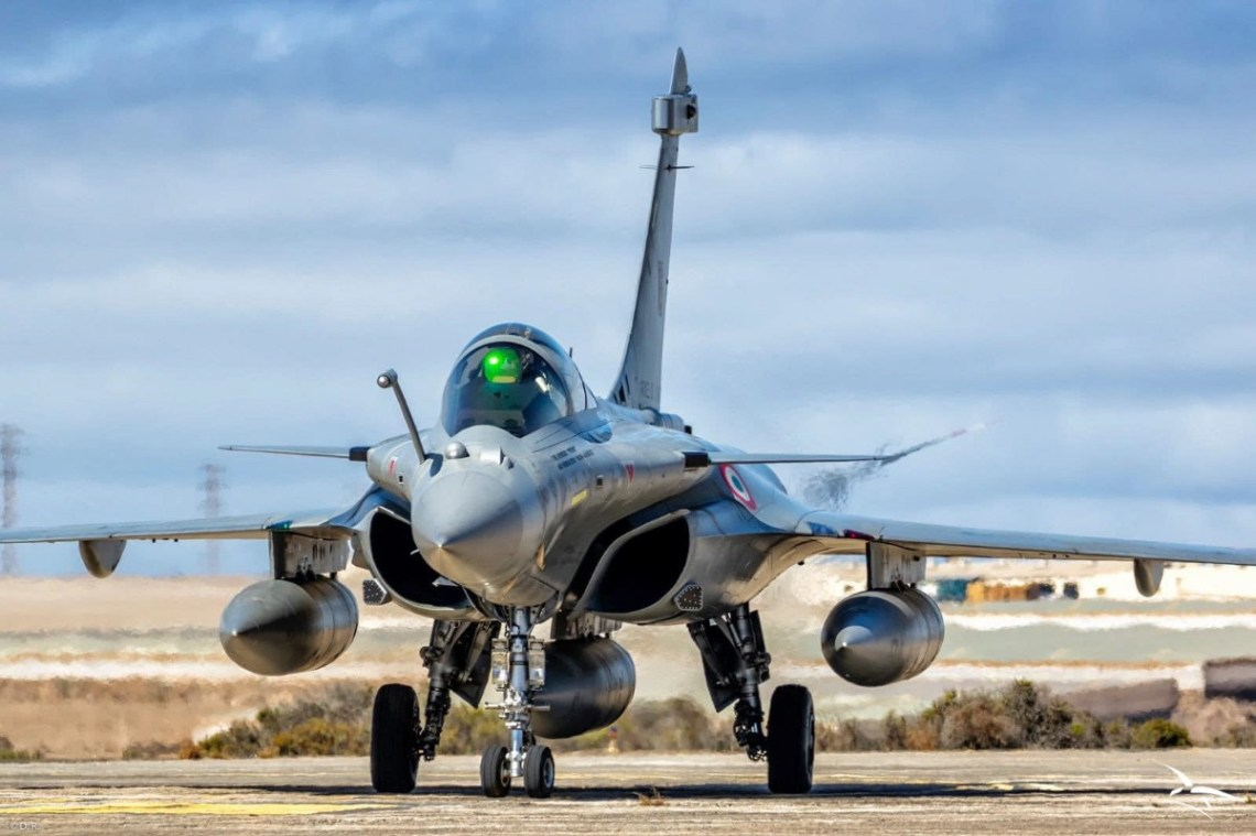 French Air Force Dassault Rafale