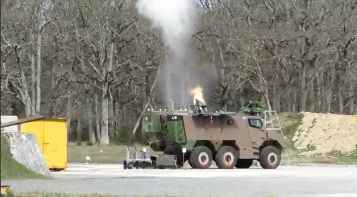 GRIFFON MEPAC Mortar Carrier
