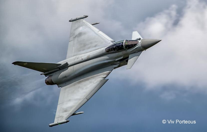 Leonardo to Sponsor Royal Air Force Typhoon Display Team
