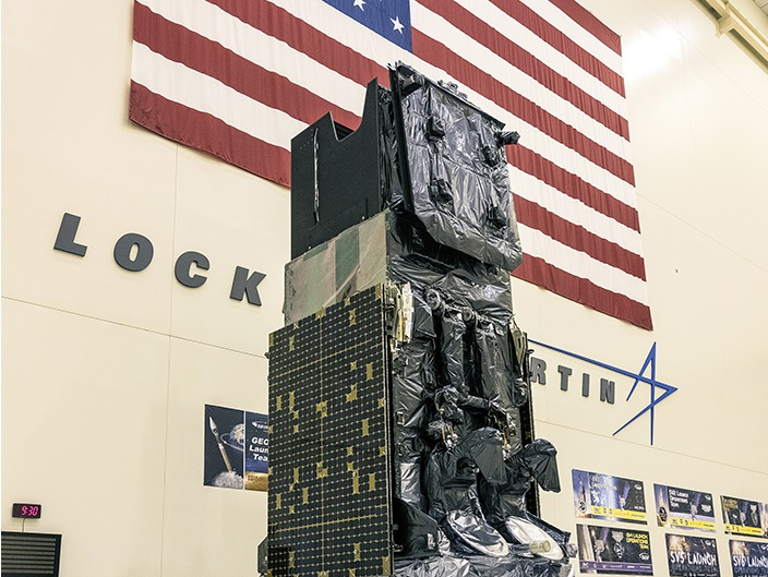 SBIRS GEO 5 prepares to ship to Cape Canaveral