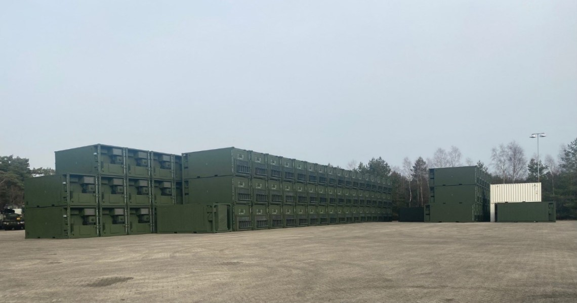 MADG Integrates Dutch Armed Forces Scania Gryphus Trucks with B1-W1-X1 Container System