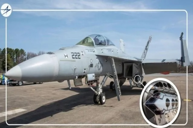 Sniper Advanced Targeting Pod Successfully Integrates With Kuwait F-18 Super Hornet