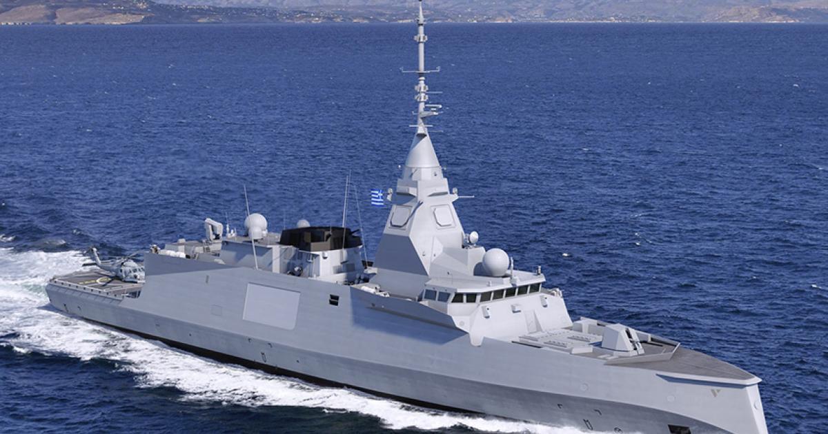 Naval Group Offers to Modernize Hellenic Navy Surface Fleet