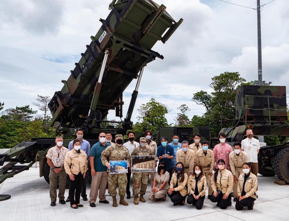 New Patriot Missile Storage Facility Unveiled at Kadena Air Base, Okinawa