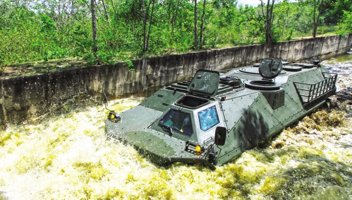 Panus R600 8x8 Infantry Fighting Vehicle