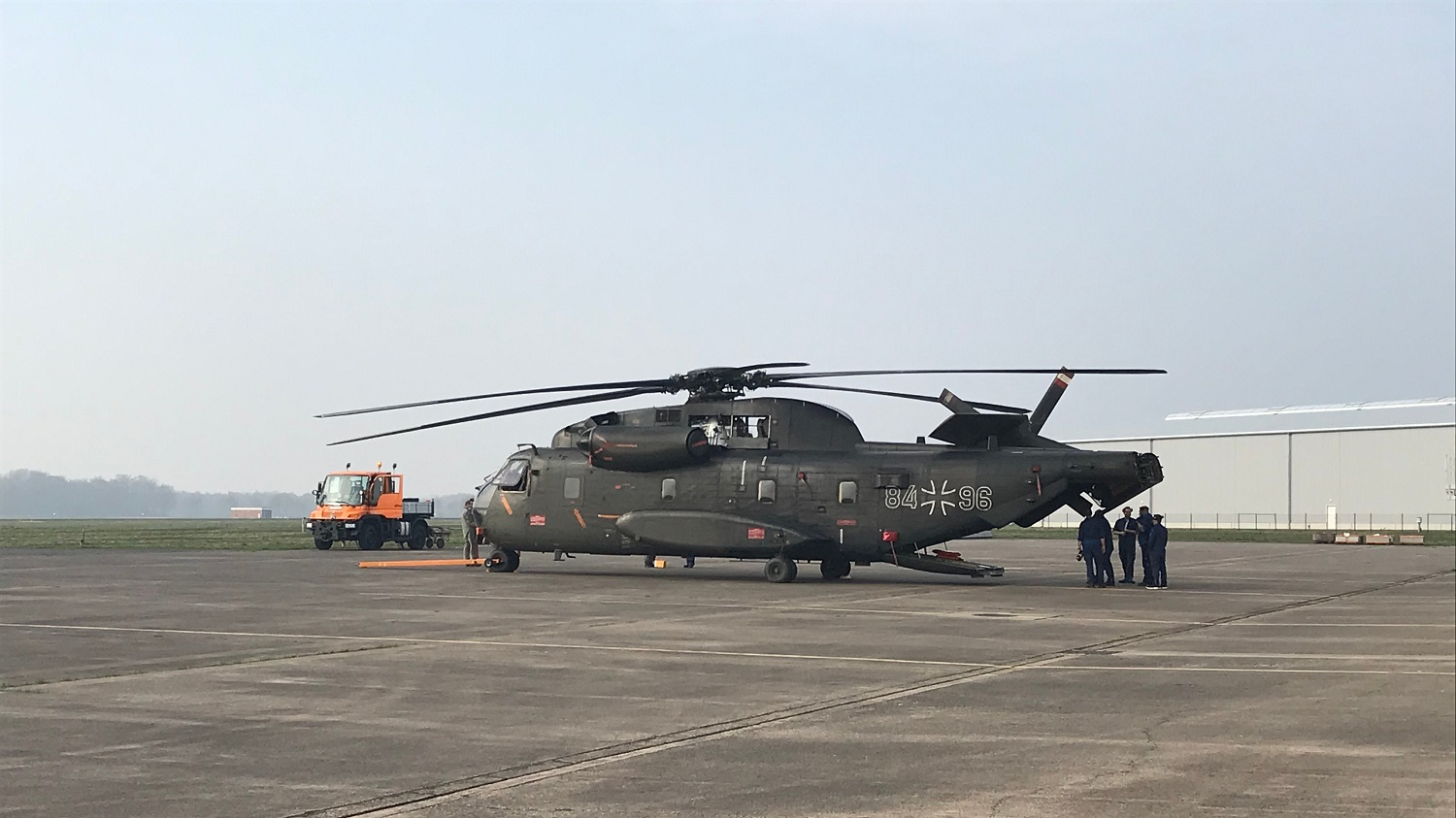 Rheinmetall Aviation Services Takes Over Maintenance German Air Force CH-53G Transport Helicopters