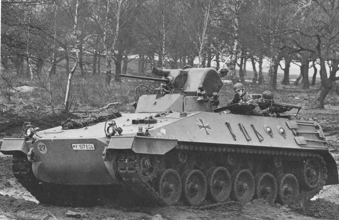 Thyssen-Henschel and Krupp MaK Marder Infantry Fighting Vehicle