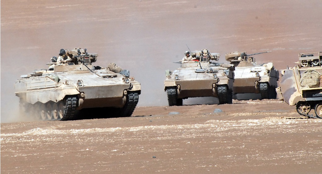 Chilean Army Marder Infantry Fighting Vehicle