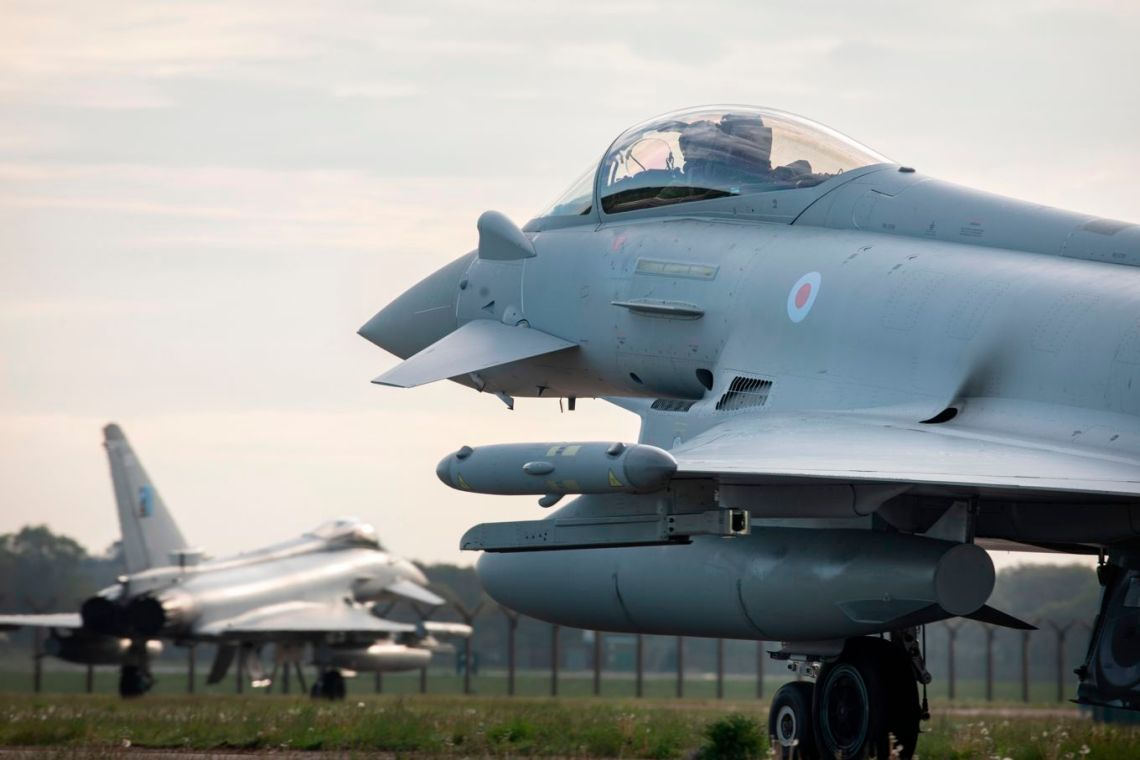Royal Air Force Join French and US Air Forces in Exercise Atlantic Trident