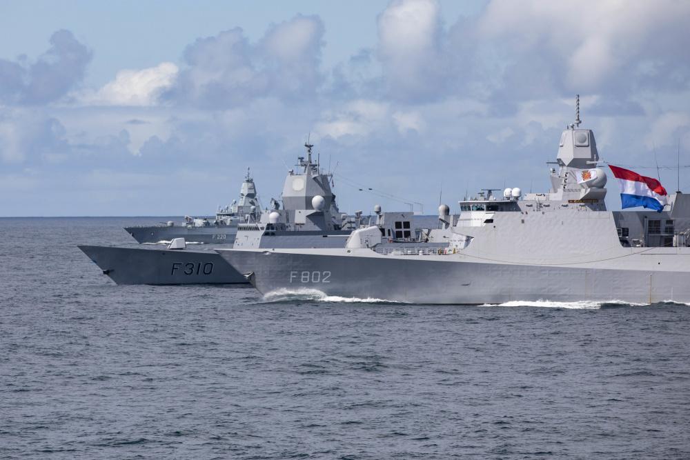Royal Norwegian Navy HNoMS Fridtjof Nansen Successfully Fires Two ESSM During Exercise At-Sea Demo