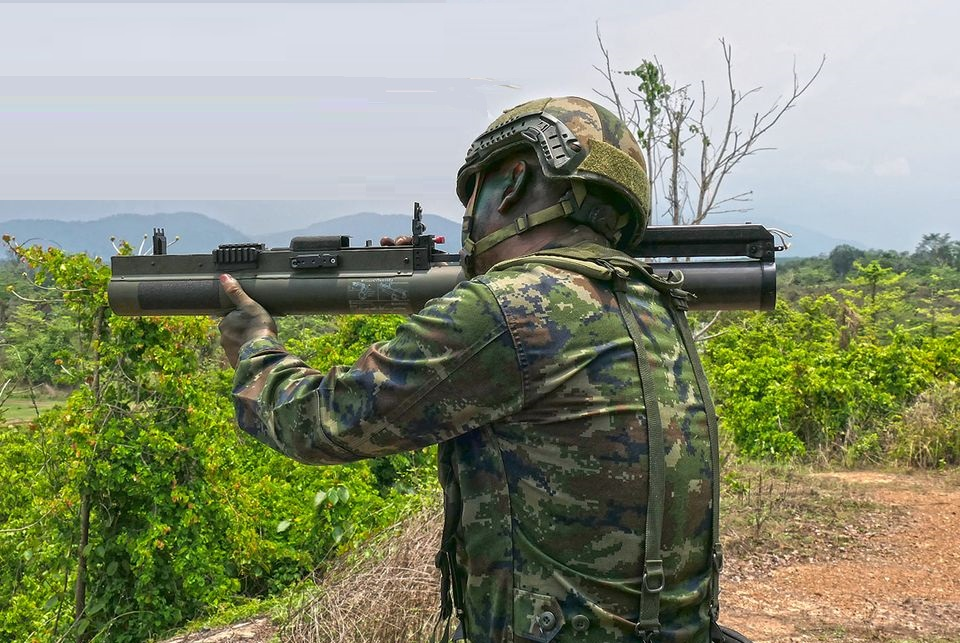 Royal Thai Marine Corps Gets M72 EC Mk1 Light Anti-Armor Weapon (LAW)