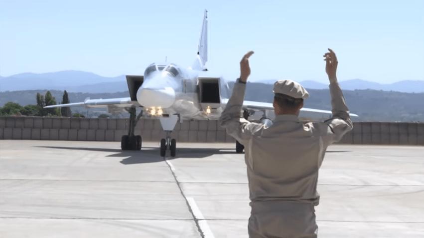 Russian Deploys Tu-22M3 Backfire-C Strategic Bombers to Khmeimim Air Base, Syria