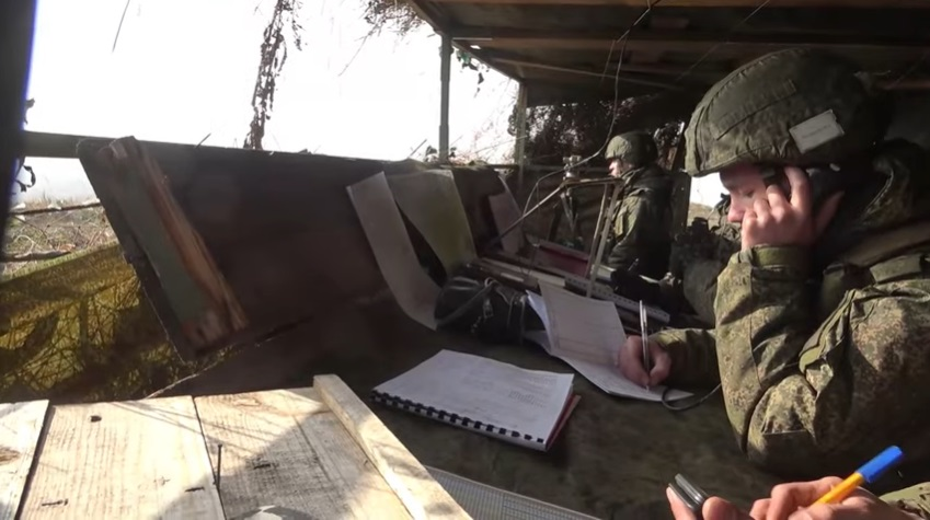 Russian Southern Military District Msta-S Howitzers Conduct Live Firing Exercise in North Ossetia