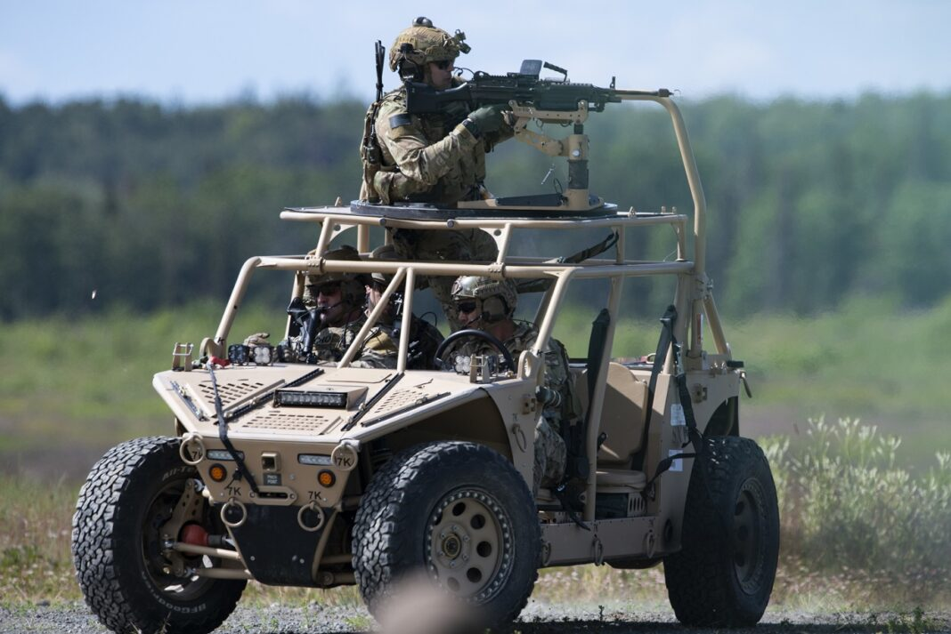 Search and Rescue Tactical Vehicle (SRTV) – Side by Vehicle (SXV)