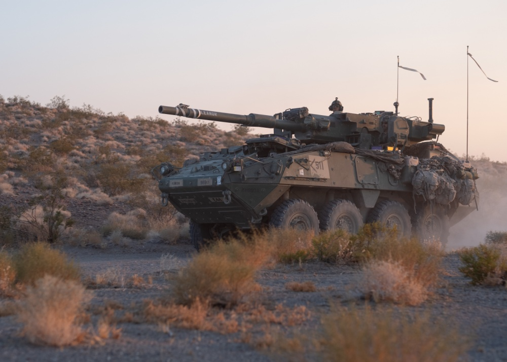 Stryker M1128 Mobile Gun System (MGS)