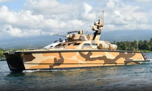 Indonesian Navy Launched Its Tank Boat for Sea Trials