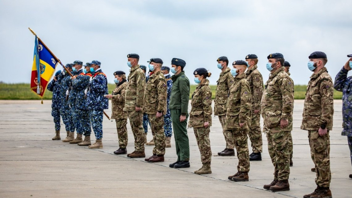 Third Royal Air Force Deployment to Enhance NATO Air Policing in Romania