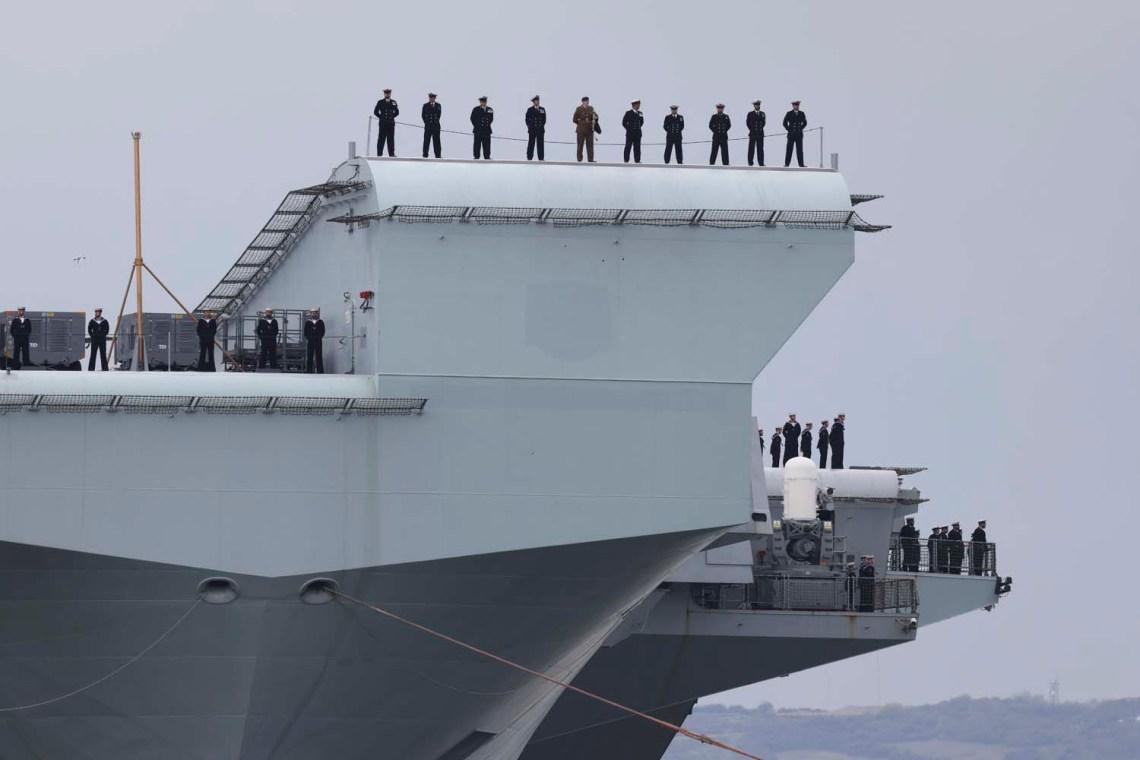 United Kingdom Carrier Strike Group Prepares for Final Test Ahead of Global Deployment