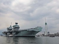United Kingdom Carrier Strike Group Prepares for Final Test Ahead of Global Deployment