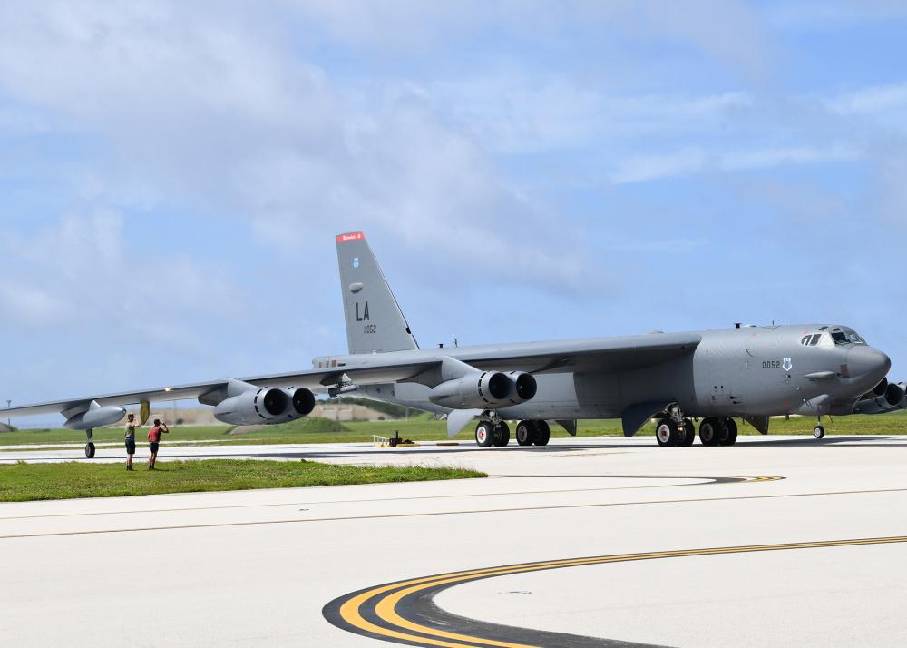 US Air Force B-52 Stratofortress Strategic Bomber