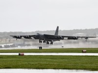 US Air Force B-52 Stratofortress Strategic Bomber