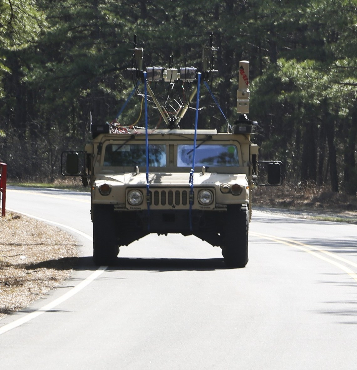 US Army Engineers Field-test Robotic Combat Vehicles (RCVs) Communications