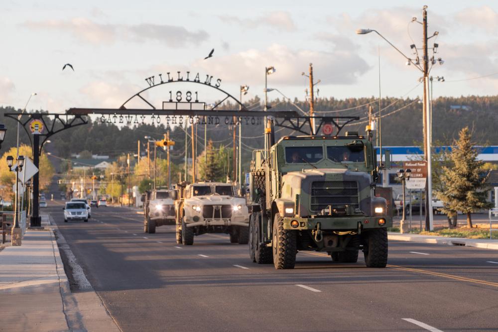 US Marine Corps Complete Historic Convoy Across America