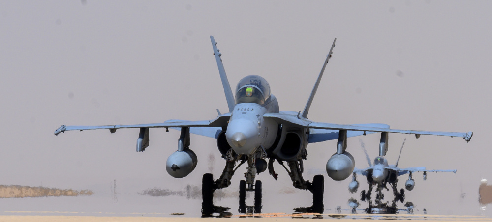 US Marine Corps Hornets Conducts Dynamic Force Employment to Prince Sultan Air Base, Kingdom of Saudi Arabia