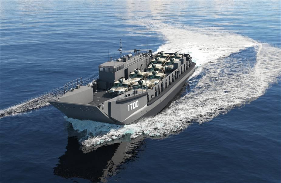 Swiftships' Landing Craft Utility 1700 class