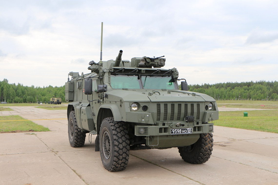 2S41 Drok Mobile Mortar System