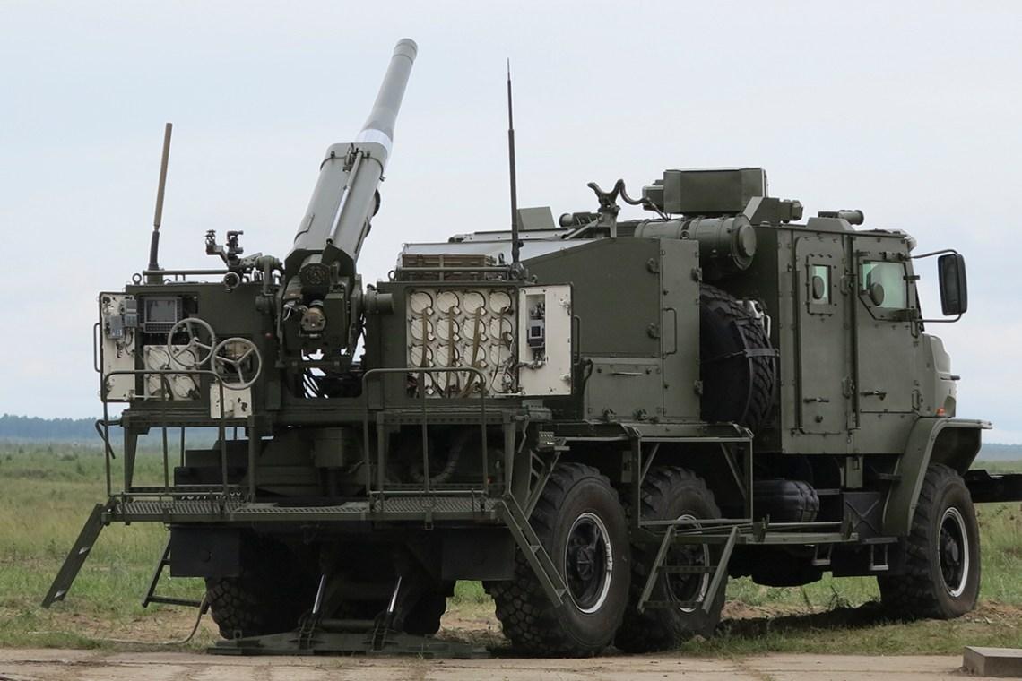 2S40 Floks (Phlox) Self-propelled Mortar System
