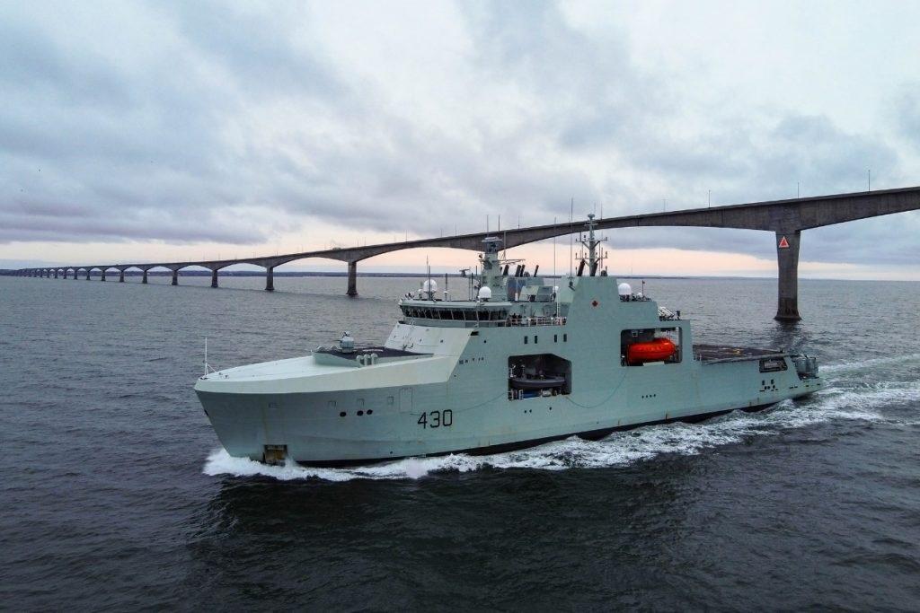 Royal Canadian Navy HMCS Harry DeWolf Offshore Patrol Vessel