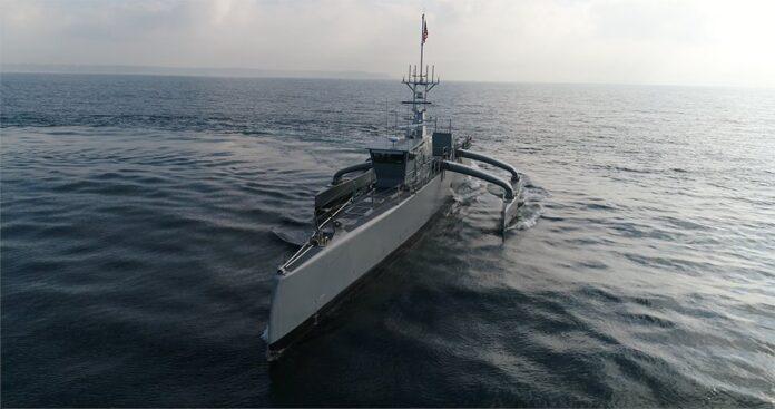 Seahawk Medium-displacement Unmanned Surface Vehicle (MDUSV)