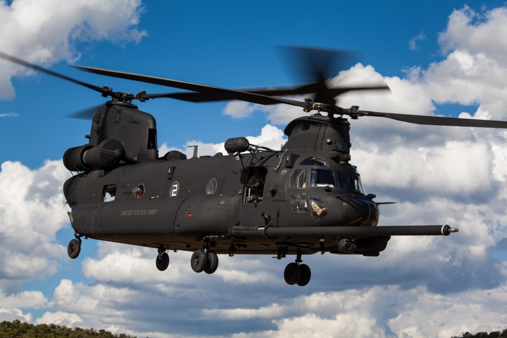 The MH-47G Special Operations Aviation (SOA) version is currently being delivered to the U.S. Army. It is similar to the MH-47E, but features more sophisticated avionics including a digital Common Avionics Architecture System (CAAS).