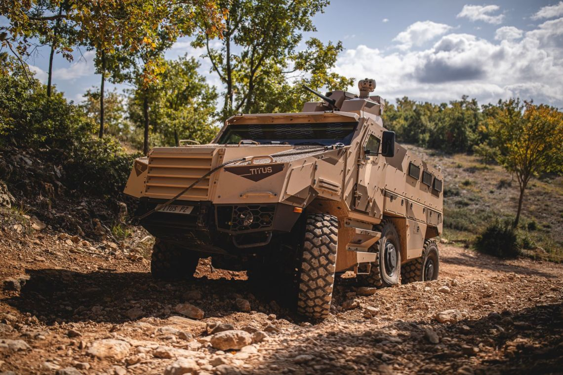 Nexter Titus Infantry Mobility Vehicle