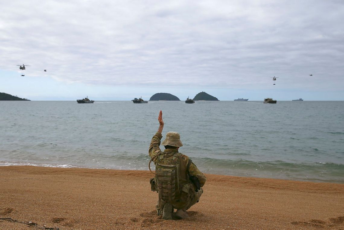 Australian Amphibious Force Completes Exercise Sea Explorer
