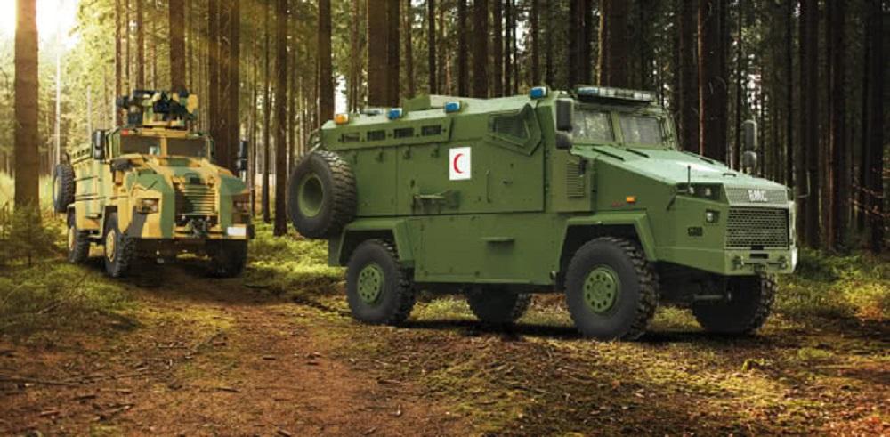 BMC Kirpi 4x4 Troop Carrier and Ambulance